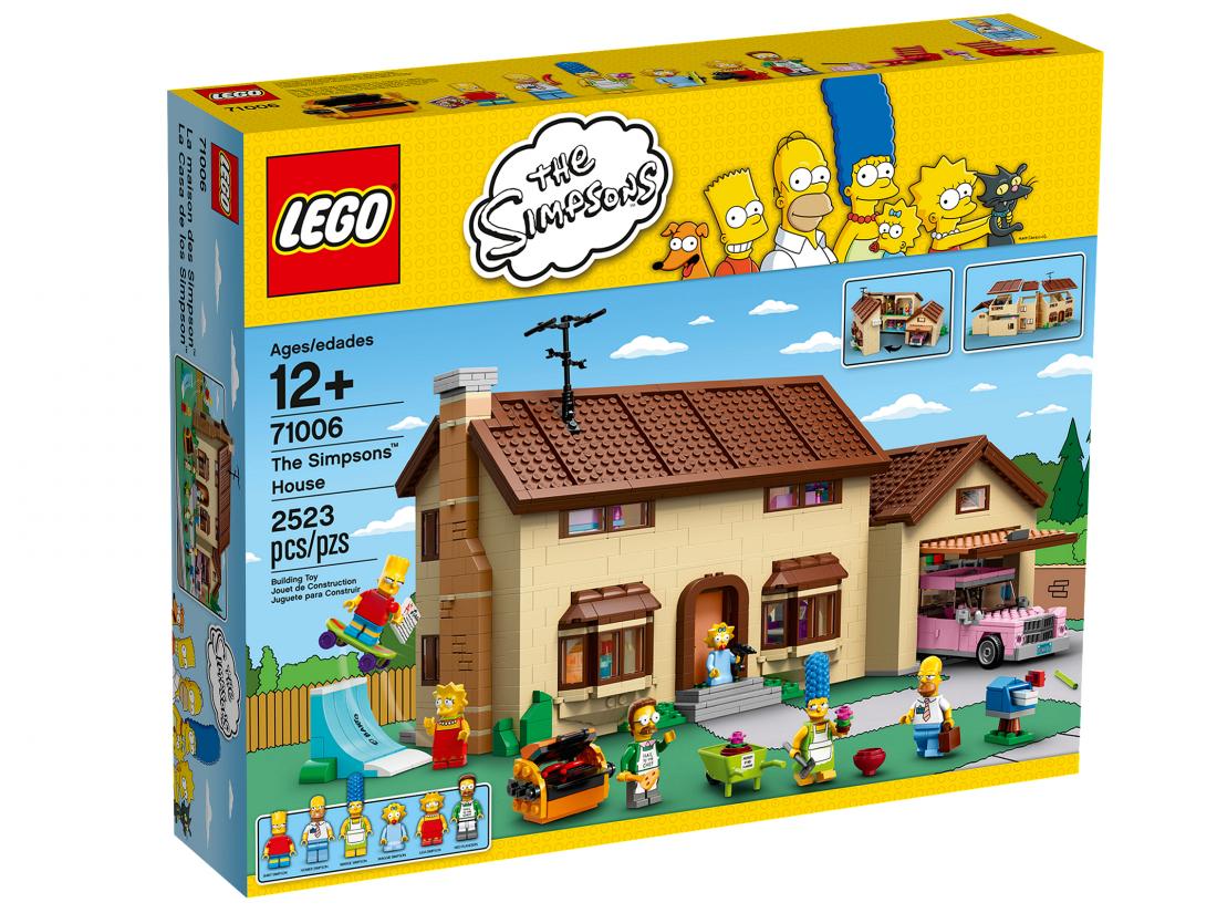 71006 Дом Симпсонов