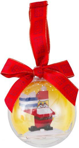 850850 Ёлочная игрушка Санта-Клаус в шаре Конструктор ЛЕГО