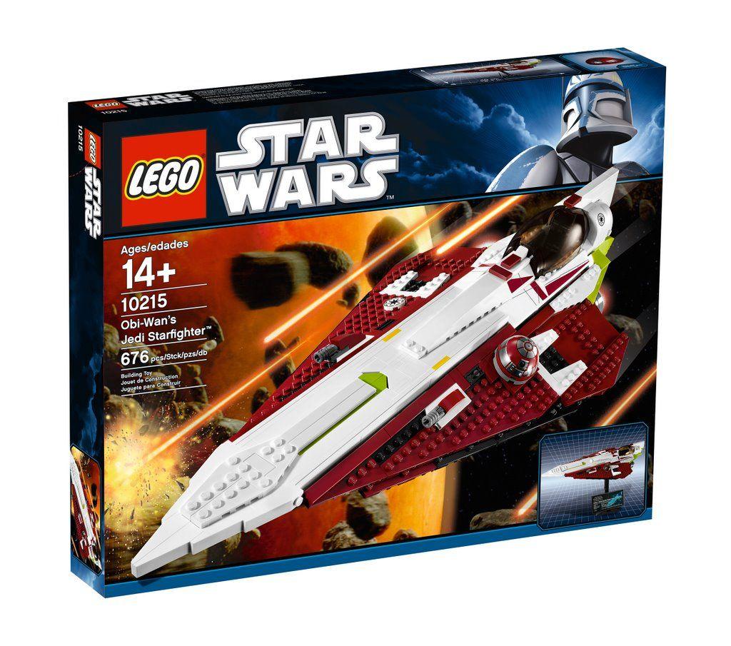 10215 Звездолет Оби-Вана Кеноби. Конструктор ЛЕГО Звездные войны