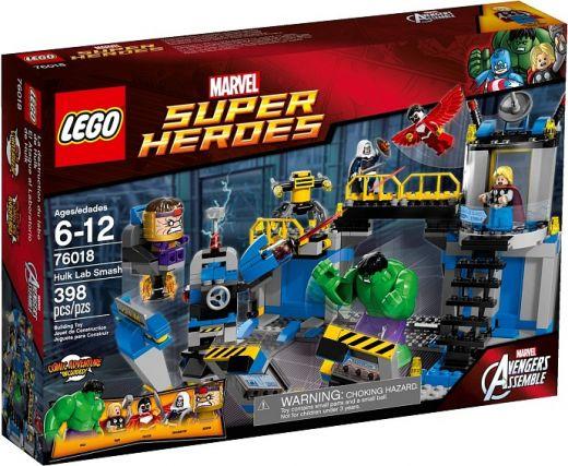 76018 Халк: Разгром Лаборатории Конструктор ЛЕГО Супергерои