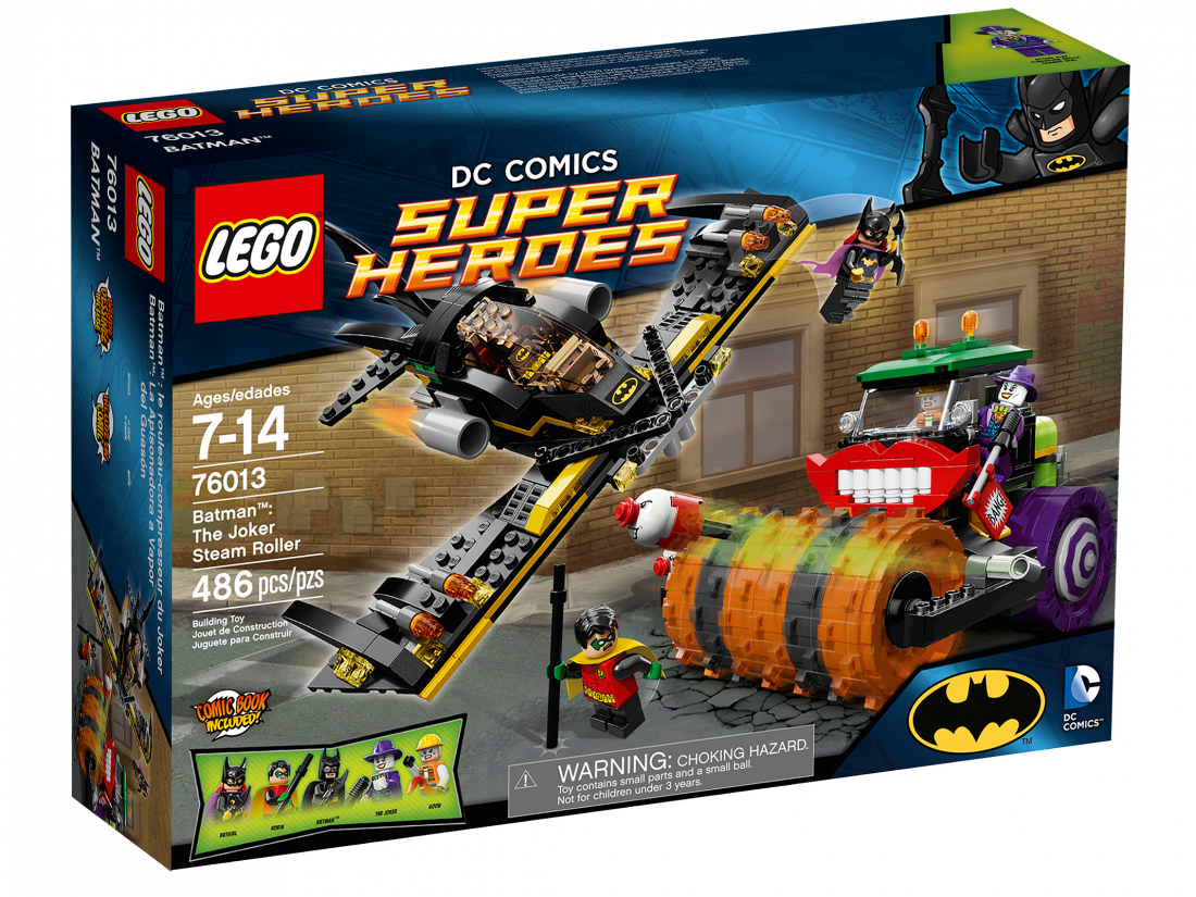 76013 Бэтмен: Паровой каток Джокера Конструктор ЛЕГО Супергерои