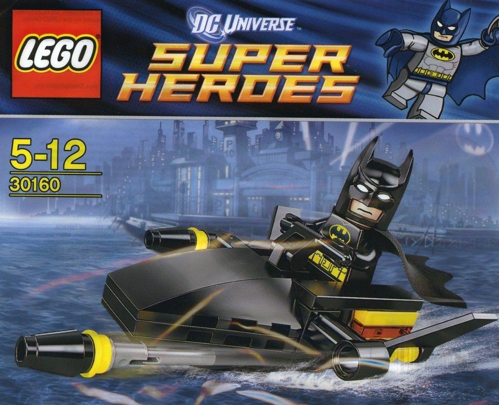 30160 Бэтмэн: катер Бэтмэна Конструктор ЛЕГО Супергерои