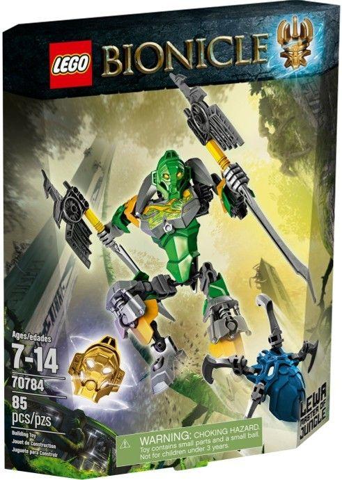 70784 Лева-Повелитель Джунглей Конструктор ЛЕГО Бионикл
