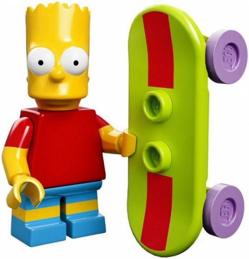 71005-2 Коллекционная Минифигурка Барт Симпсон