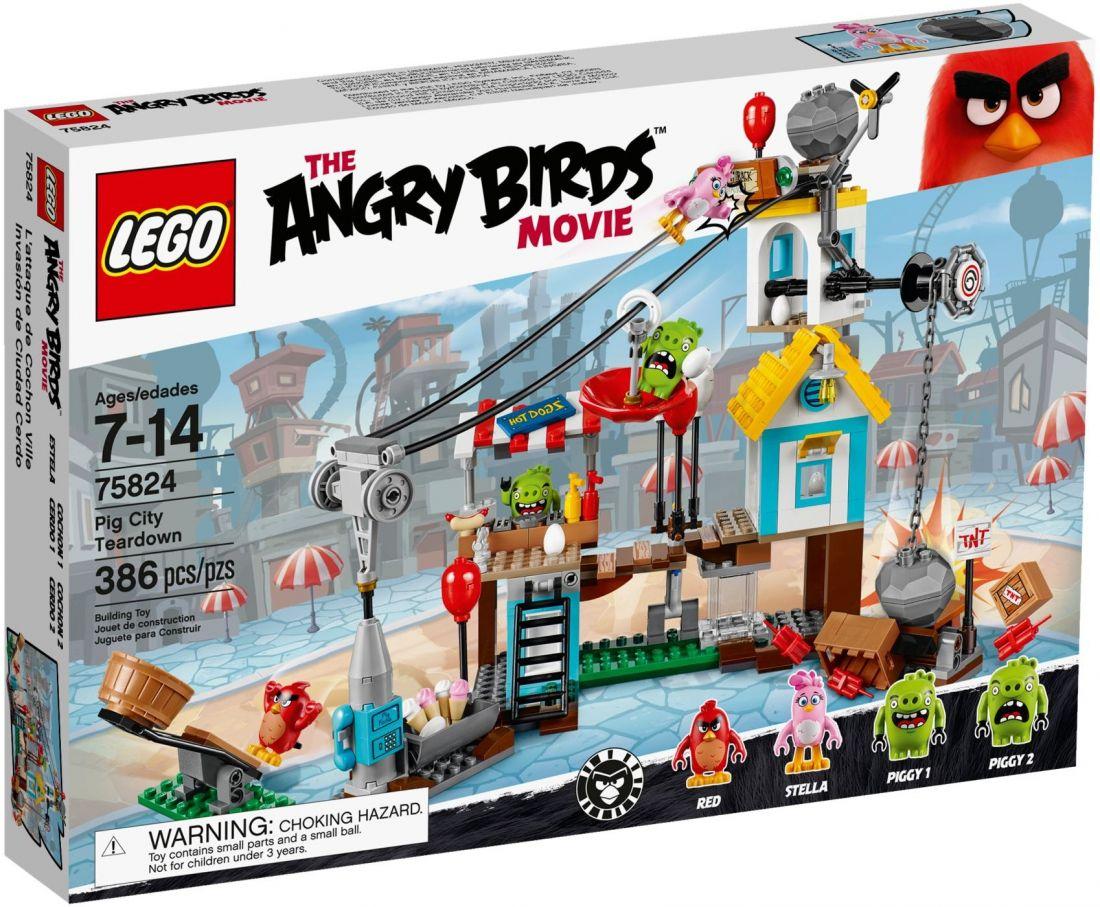 75824 Разгром свинограда Конструктор ЛЕГО Angry Birds