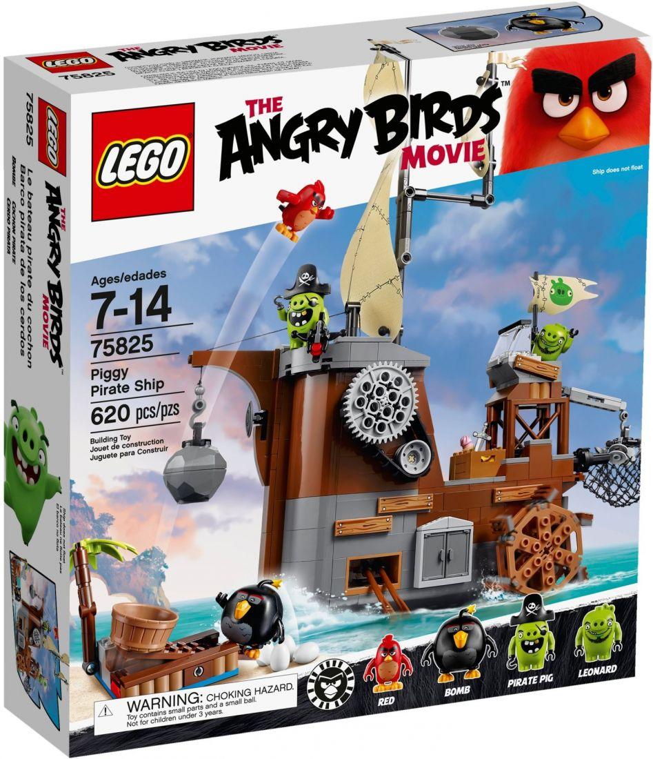 75825 Пиратский корабль свинок ЛЕГО Angry Birds