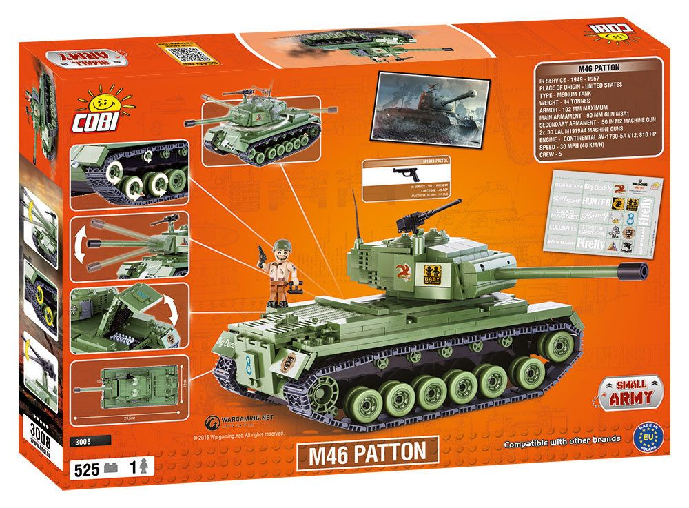 КОБИ World of Tanks - Танк M46 Patton COBI-3008