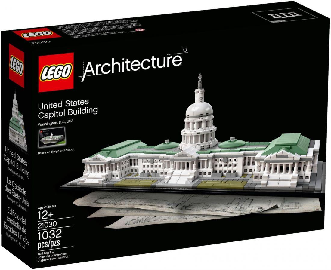 Конструктор ЛЕГО Architecture: Капитолий 21030