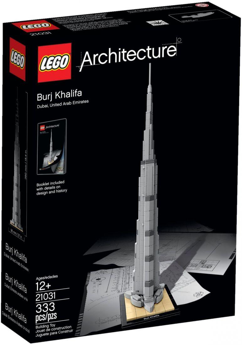 Конструктор ЛЕГО Architecture: Бурдж-Халифа 21031